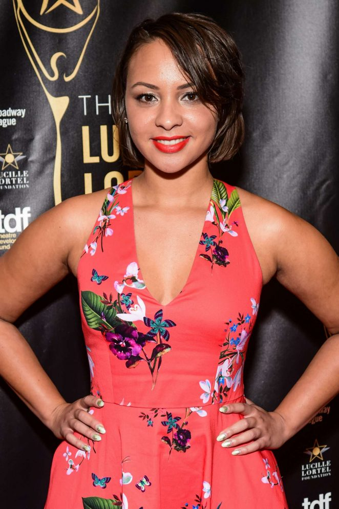 Jasmine Cephas Jones: 32nd Annual Lucille Lortel Awards -09