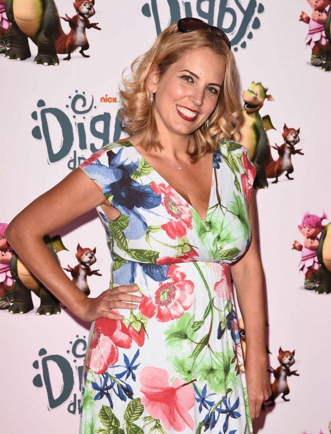 Jasmine Harman - 'Digby Dragon' Premiere in London