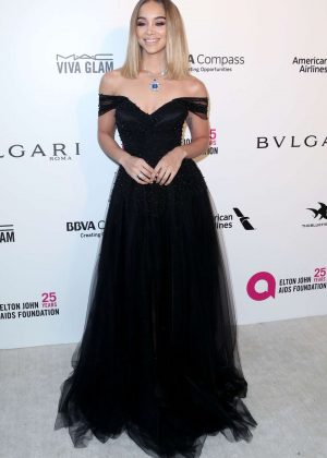Jasmine Sanders - 2018 Elton John AIDS Foundation's Oscar Viewing Party in West Hollywood