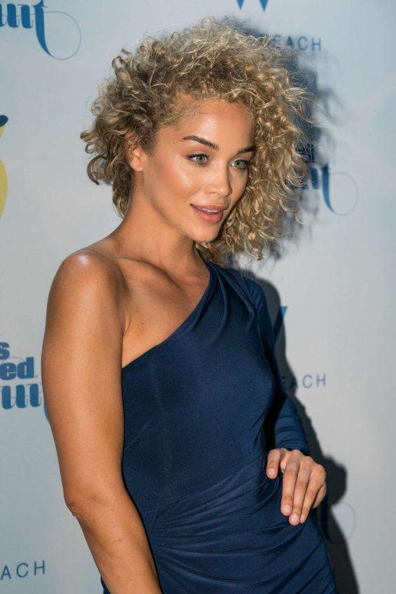 Jasmine Sanders - 2019 Sports Illustrated Swimsuit Show in Miami