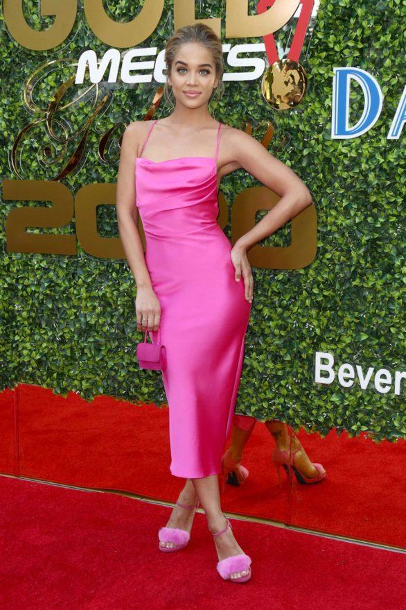Jasmine Sanders - 2020 Gold Meets Golden in Los Angeles
