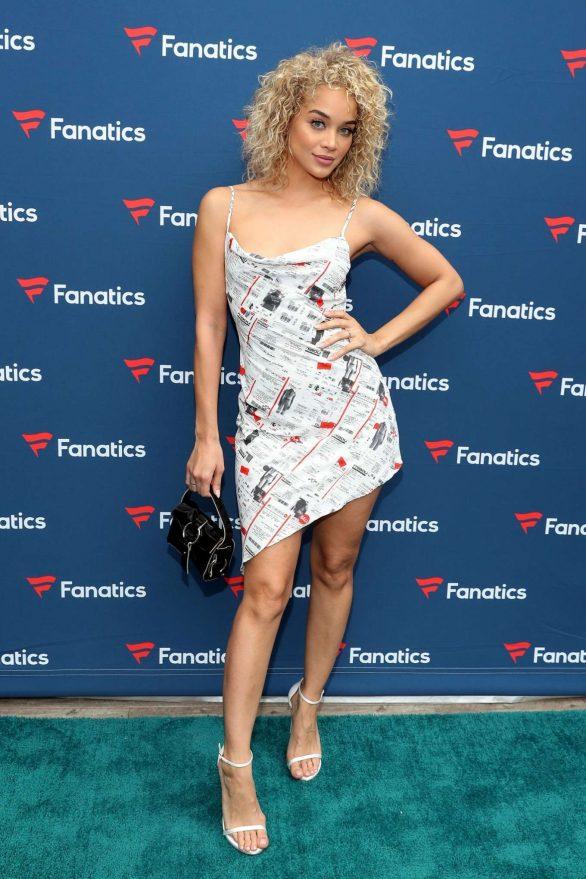 Jasmine Sanders - Fanatics Super Bowl Party in Miami