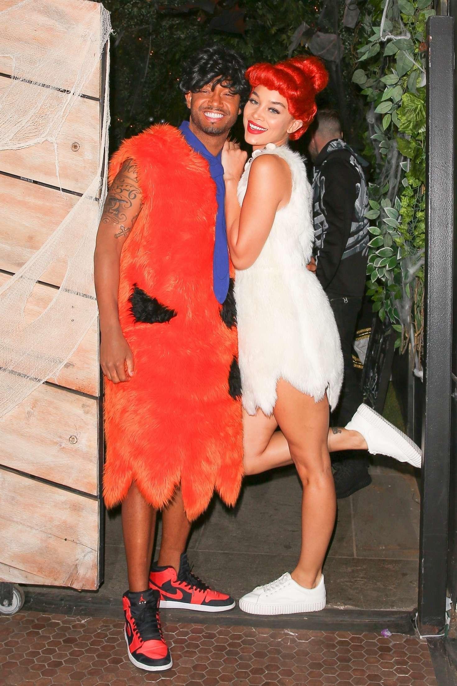 Jasmine Sanders 2017 : Jasmine Sanders: Kelly Rowlands Costume Couture Bash -01