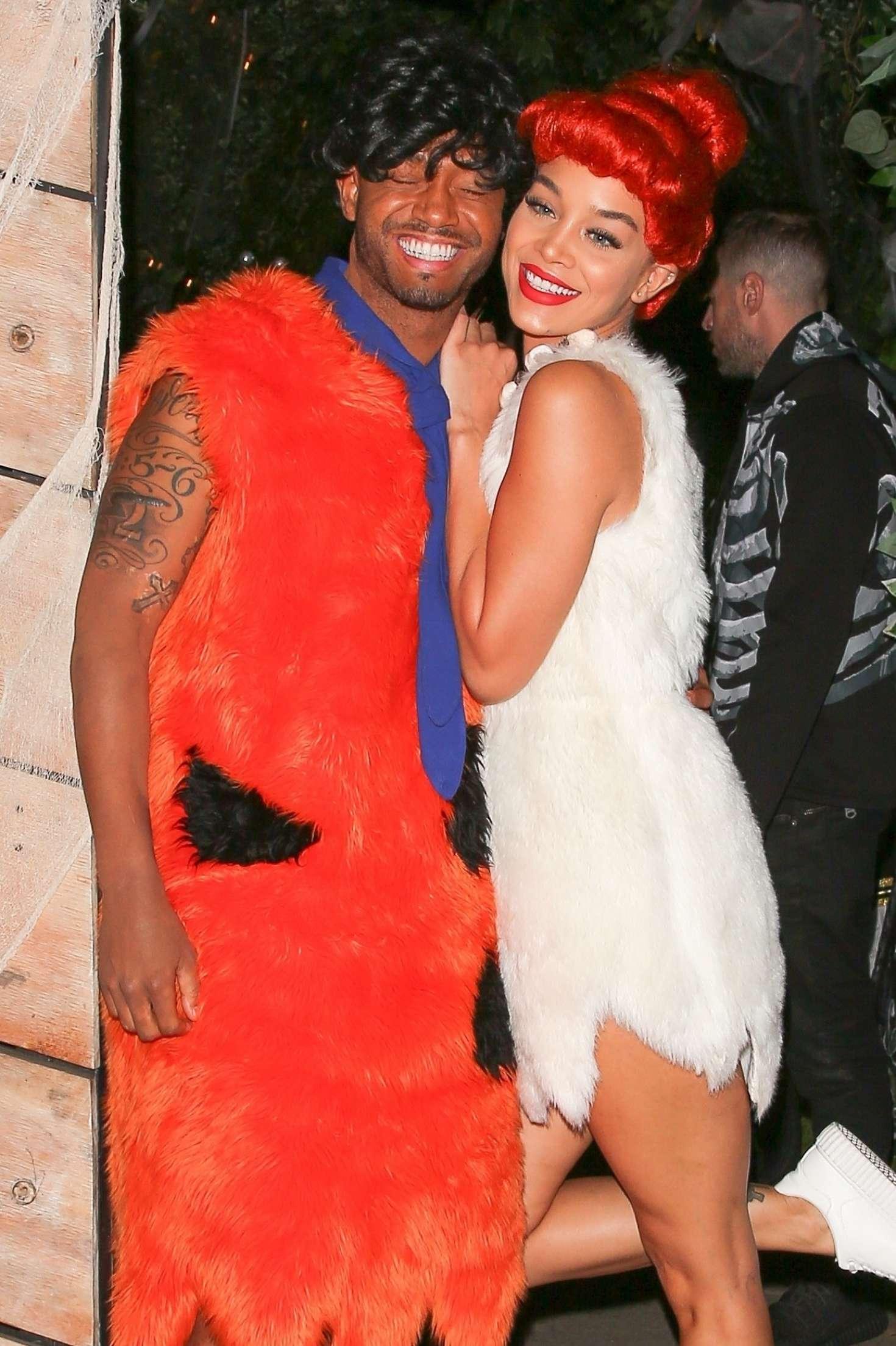 Jasmine Sanders 2017 : Jasmine Sanders: Kelly Rowlands Costume Couture Bash -12