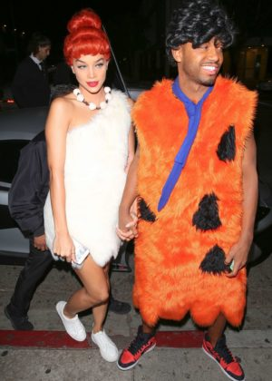Jasmine Sanders - Kelly Rowland's Costume Couture Bash in West Hollywood