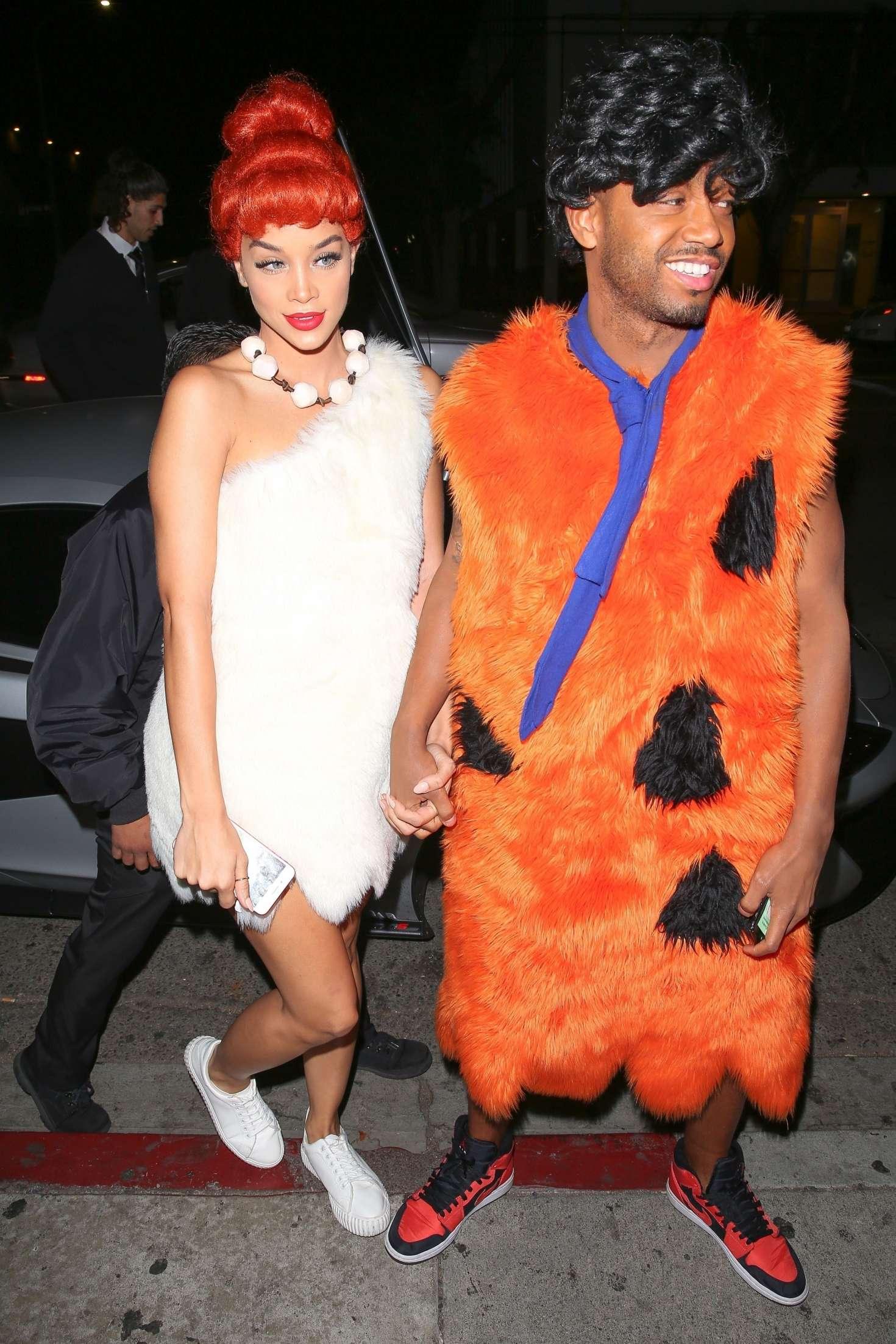 Jasmine Sanders 2017 : Jasmine Sanders: Kelly Rowlands Costume Couture Bash -14