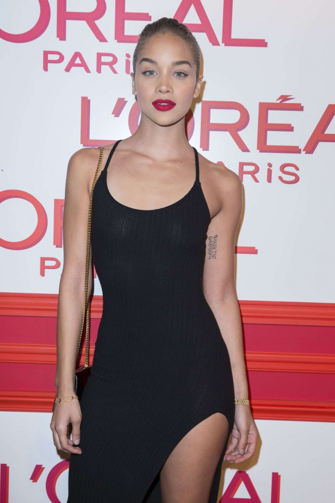 Jasmine Sanders - L'Oreal Red Obsession Party 2016 in Paris