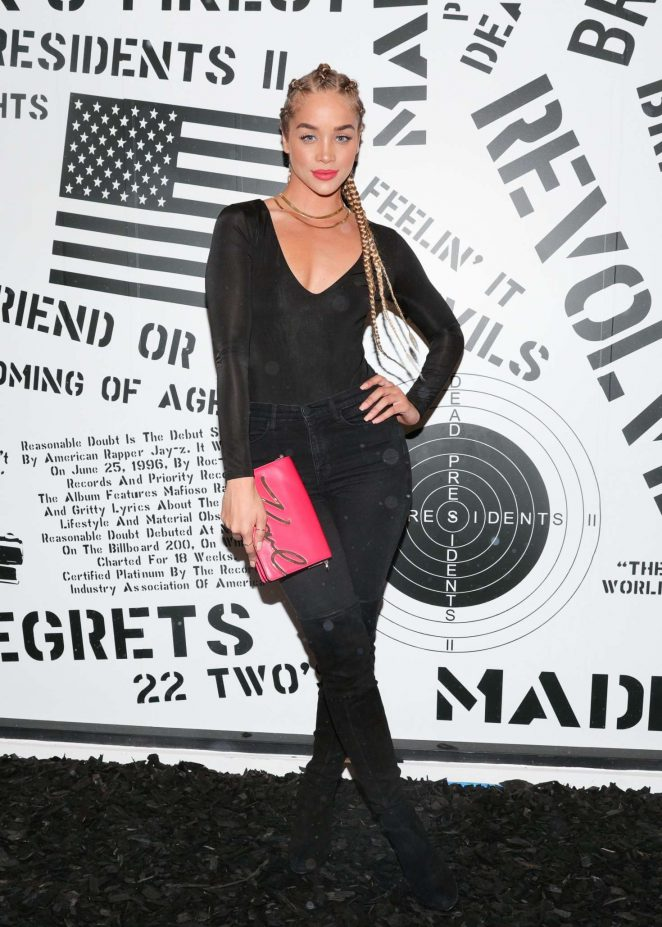 Jasmine Sanders - Revolve Launch: MadeWorn x Roc96 Capsule in LA