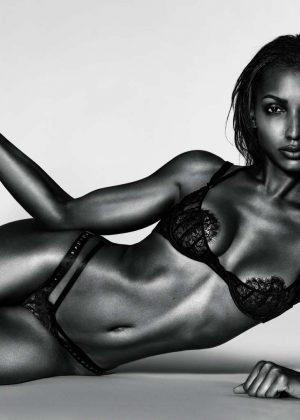 Jasmine Tookes - 10 magazine's centrefold (February 2017)