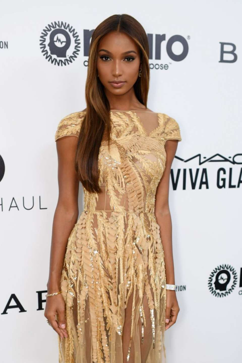 Jasmine Tookes - 2017 Elton John AIDS Foundation's Oscar Viewing Party in West Hollywood
