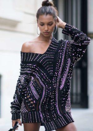 Jasmine Tookes - 2017 Fashion Week in Paris