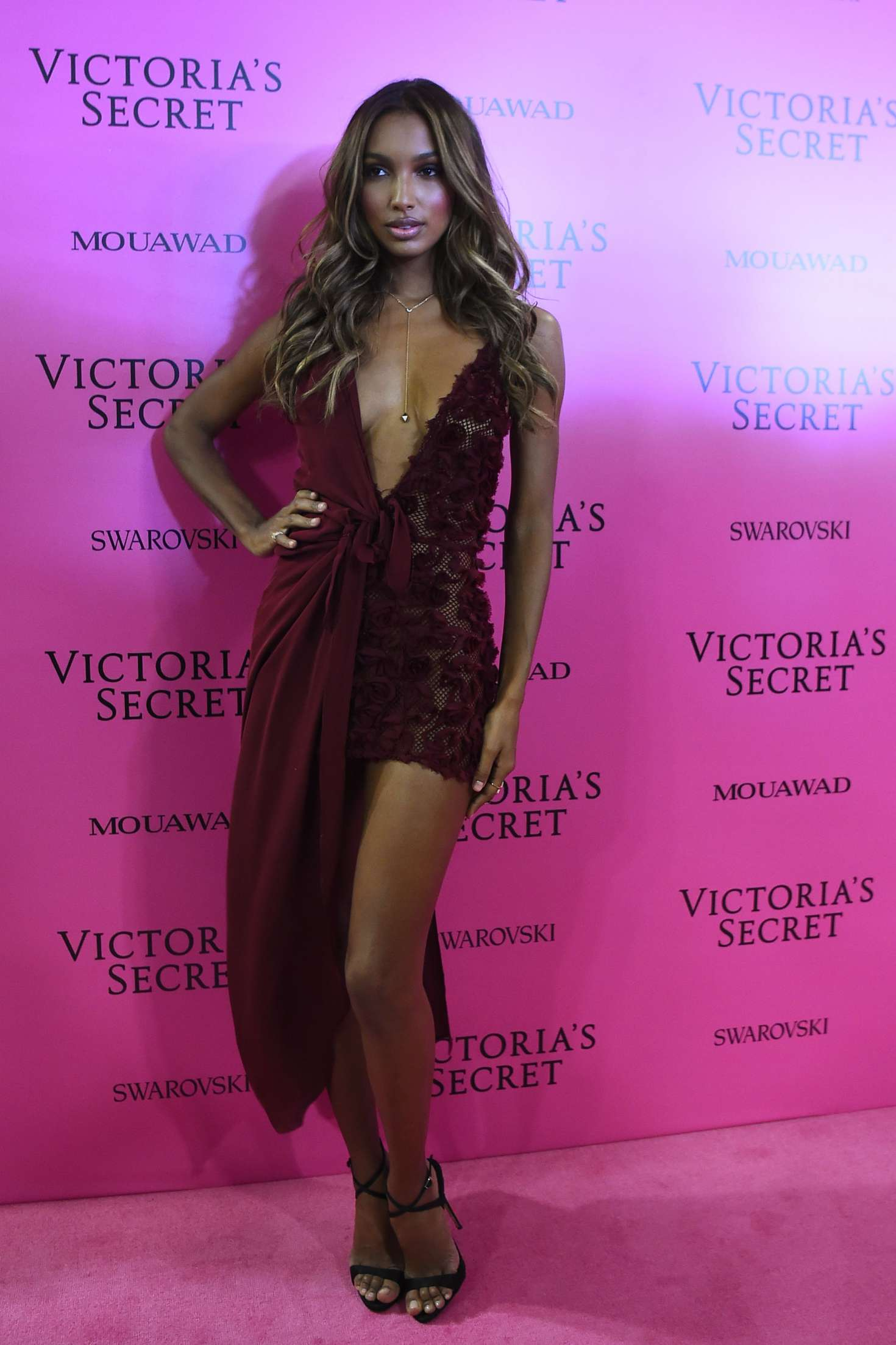 Jasmine Tookes 2017 Victoria S Secret Fashion Show After