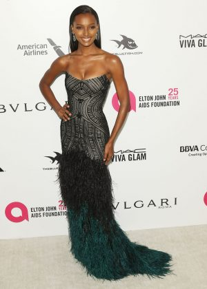 Jasmine Tookes - 2018 Elton John AIDS Foundation's Oscar Viewing Party in West Hollywood