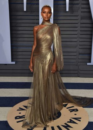 Jasmine Tookes - 2018 Vanity Fair Oscar Party in Hollywood
