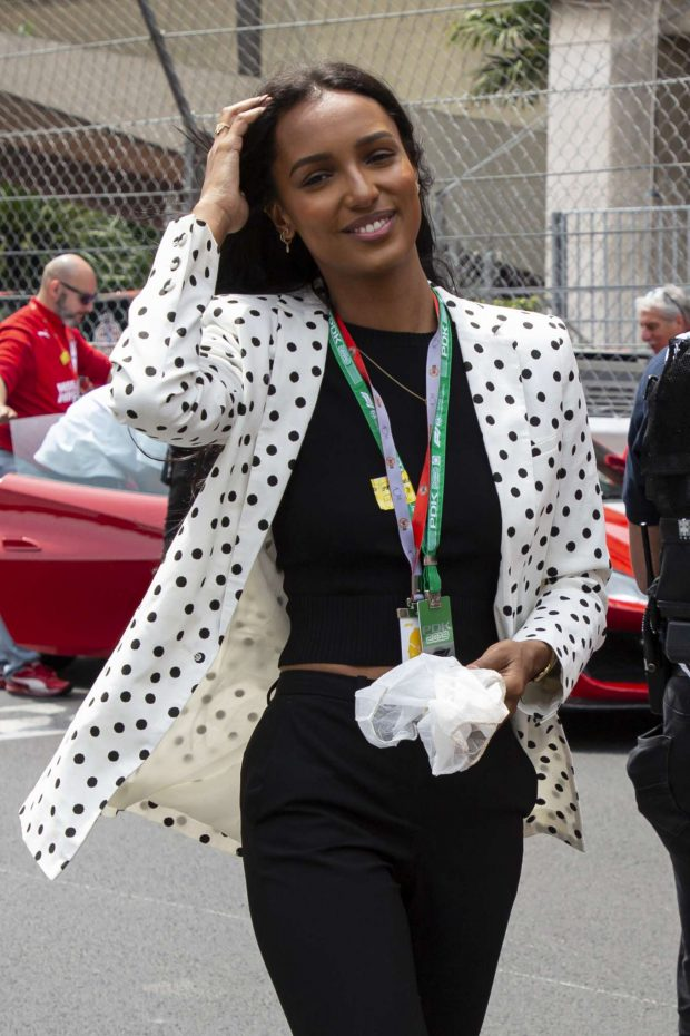 Jasmine Tookes - 77th Formula 1 Grand Prix of Monaco