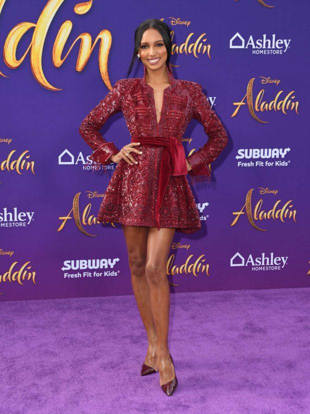 Jasmine Tookes - 'Aladdin' Premiere in Los Angeles