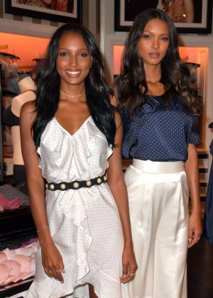 Jasmine Tookes and Lais Ribeiro - Victoria's Secret Sexy Illusions Launch in Miami