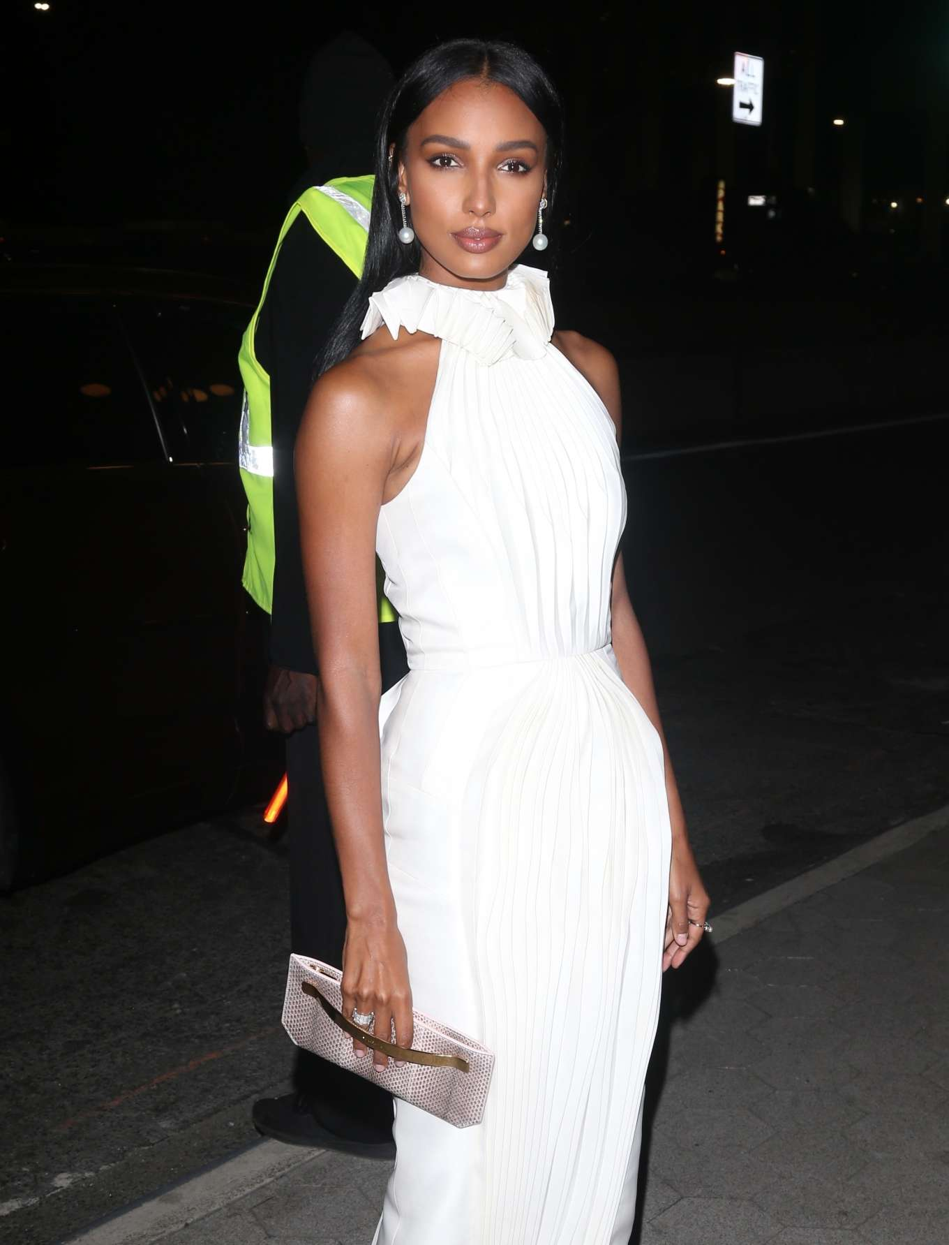 Jasmine Tookes - Arrives at CFDA/Vogue Fashion Fund 2019 Awards in NYC
