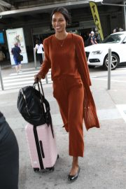 Jasmine Tookes - Arrives at Nice Airport in France