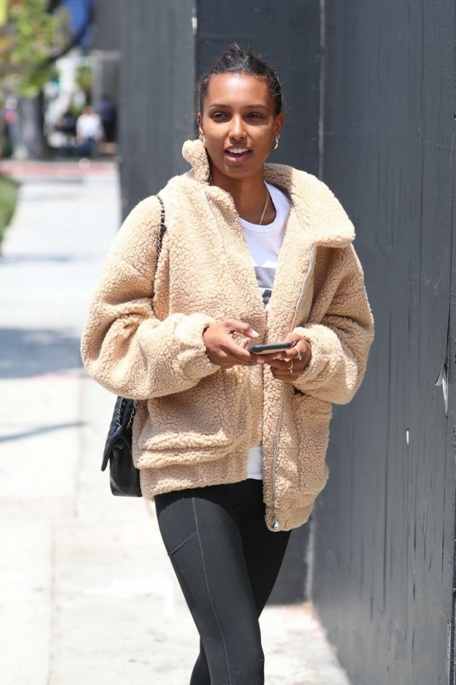 Jasmine Tookes - Arrives to Urth Caffe in West Hollywood