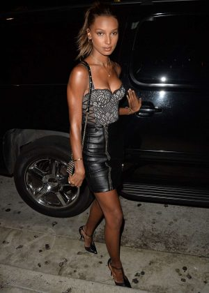 Jasmine Tookes at Catch LA restaurant in West Hollywood