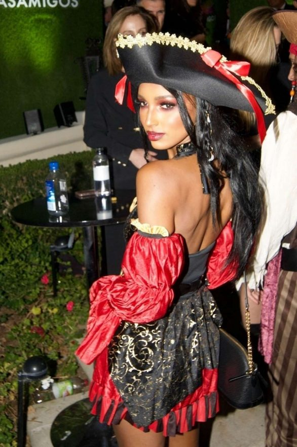 Jasmine Tookes - Casamigos Halloween Party 2019 in Beverly Hills