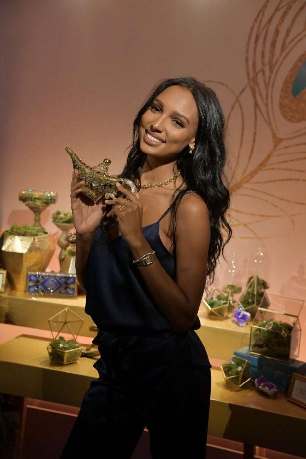 Jasmine Tookes - Disney's live action Aladdin product celebration in NYC