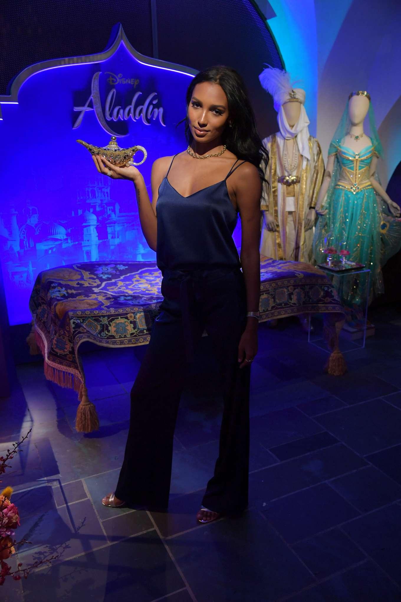 Jasmine Tookes 2019 : Jasmine Tookes: Disneys live action Aladdin product celebration -02