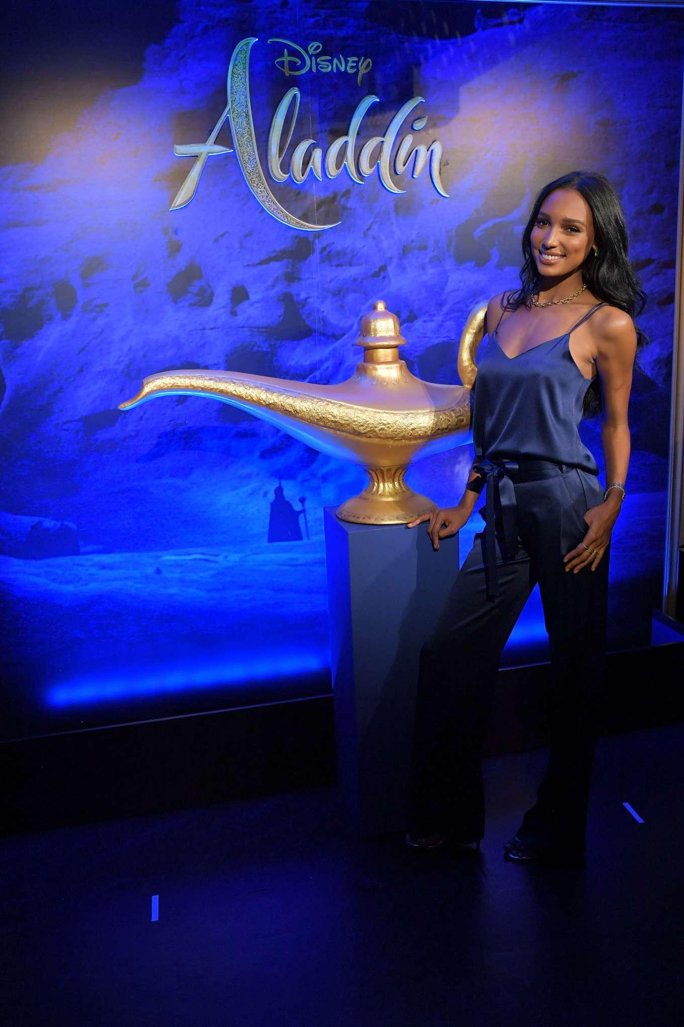 Jasmine Tookes 2019 : Jasmine Tookes: Disneys live action Aladdin product celebration -03