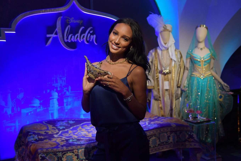 Jasmine Tookes 2019 : Jasmine Tookes: Disneys live action Aladdin product celebration -04