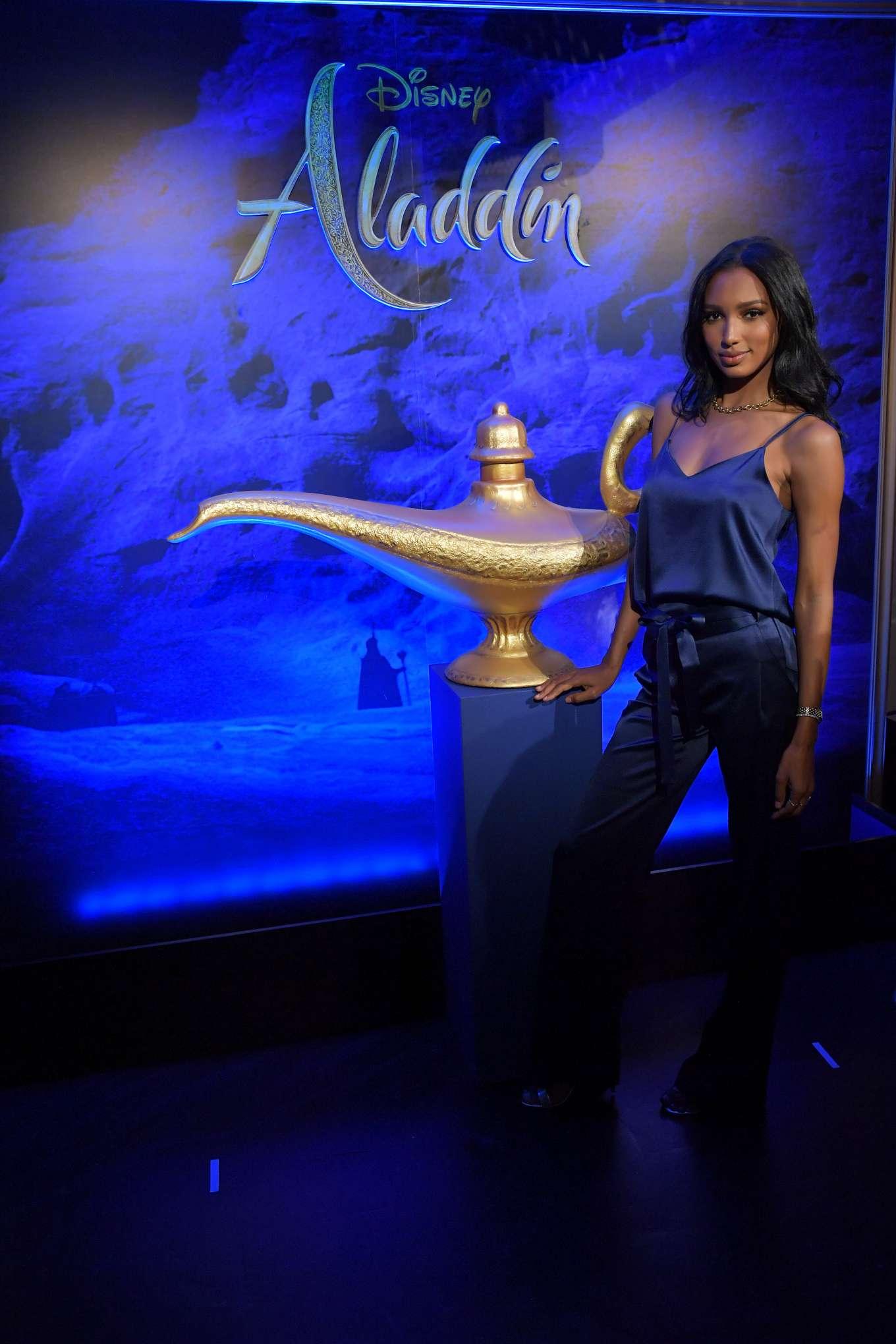 Jasmine Tookes 2019 : Jasmine Tookes: Disneys live action Aladdin product celebration -05