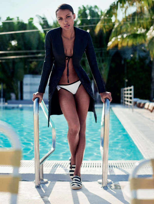 Jasmine Tookes - ELLE UK Magazine (May 2015)