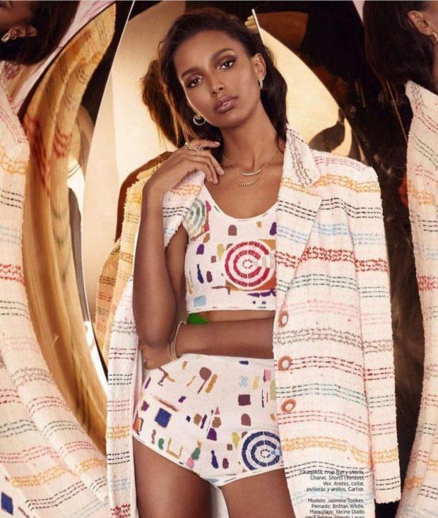 Jasmine Tookes - Harper's Bazaar Latin America Magazine (April 2019)