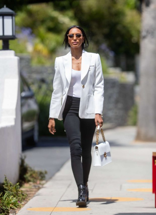 Jasmine Tookes in Tight Jeans - Out in Los Angeles
