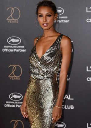 Jasmine Tookes - L'Oreal 20th Anniversary Party in Cannes