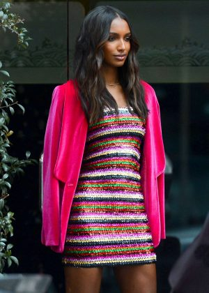 Jasmine Tookes - Leaves a Victoria Secret Party in Beverly Hills