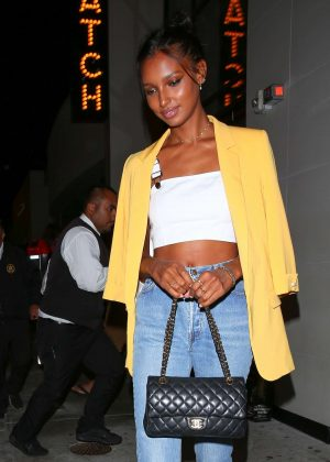 Jasmine Tookes - Leaving Catch Restaurant in West Hollywood