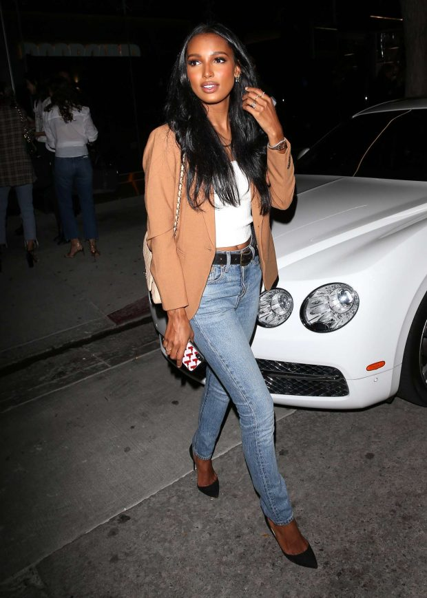 Jasmine Tookes: Leaving the opening of The Dog Pound Gym in West Hollywood-07