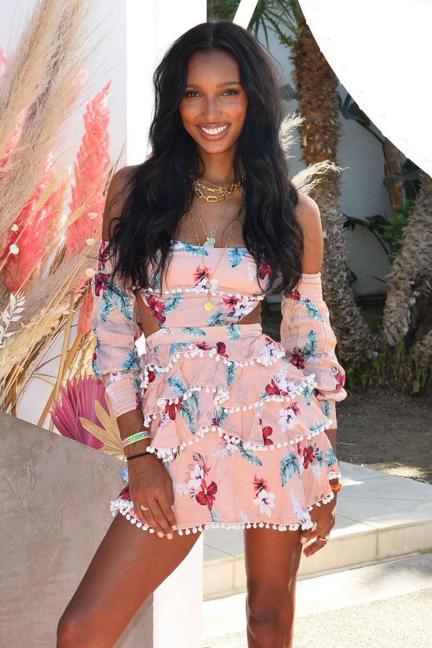 Jasmine Tookes - Revolve Party at Coachella Valley Music and Arts Festival in Indio