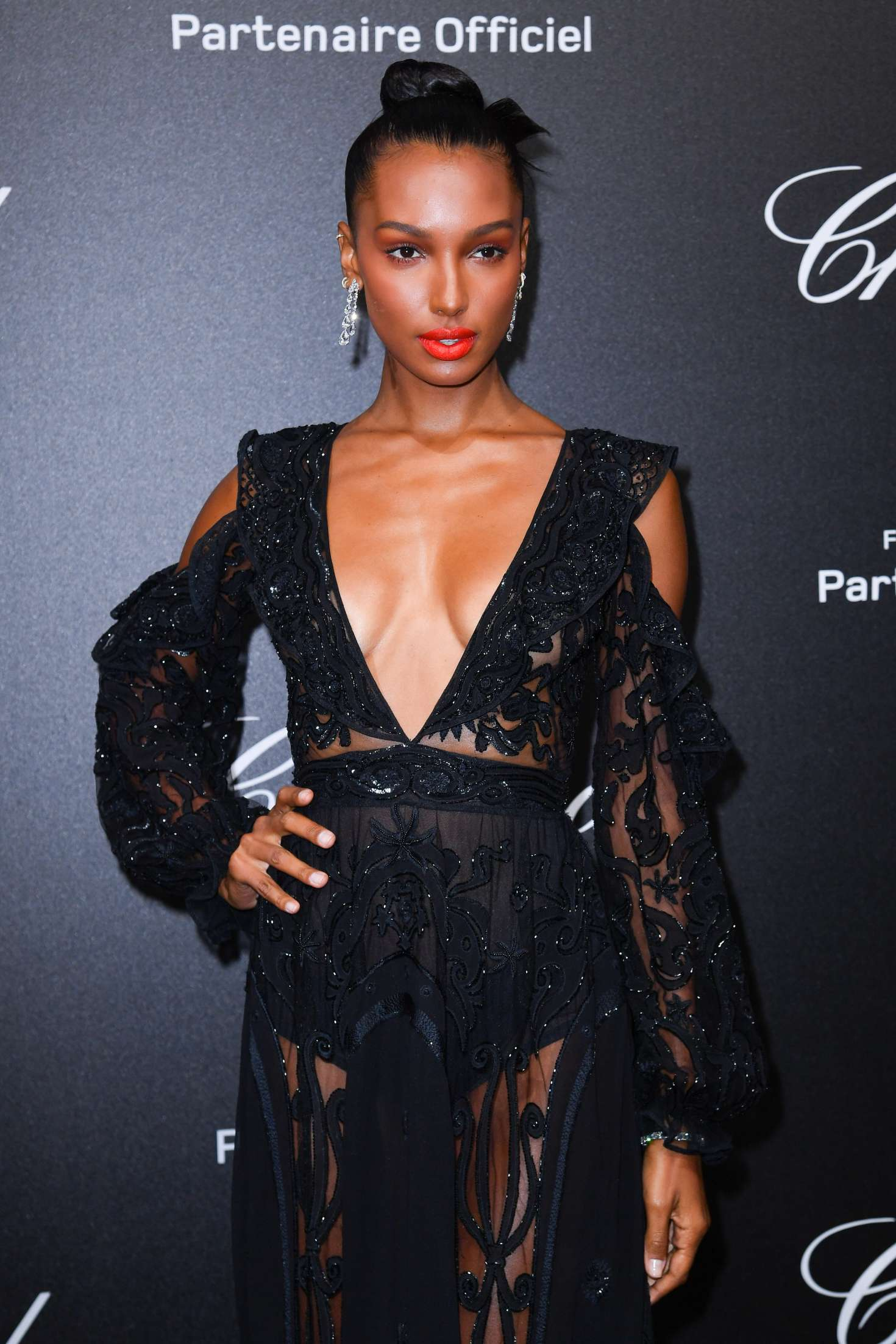 Jasmine Tookes - Secret Chopard Party at 208 Cannes Film Festival