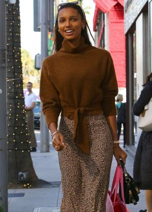 Jasmine Tookes - Shopping in Beverly Hills