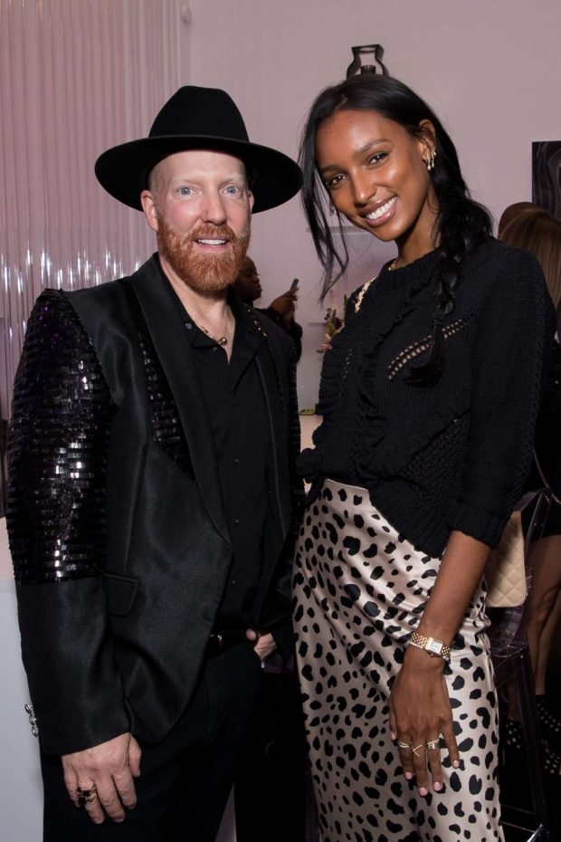 Jasmine Tookes: STARRING by Ted Gibson Salon Opening -05