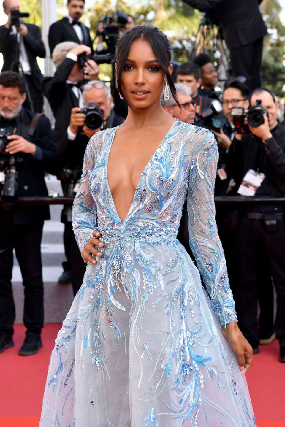 Jasmine Tookes - 'The Traitor' Premiere at 2019 Cannes Film Festival