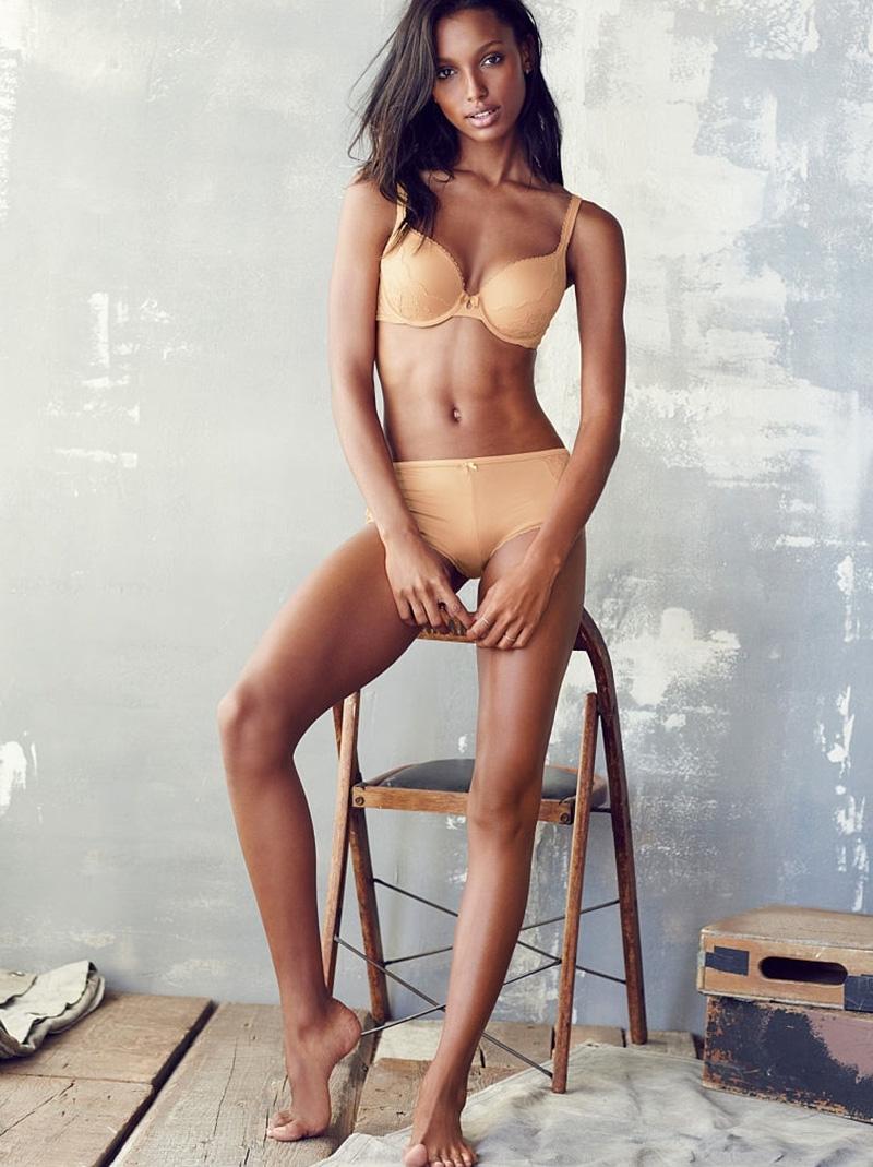 Jasmine Tookes 2015 : Jasmine Tookes: Victorias Secret Lookbook 2015 -01