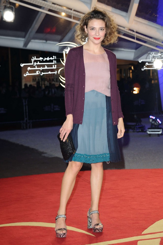 Jasmine Trinca - 2015 Marrakech International Film Festival Closing Ceremony in Marrakech