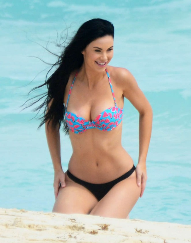 Jayde Nicole in Bikini in Cancun