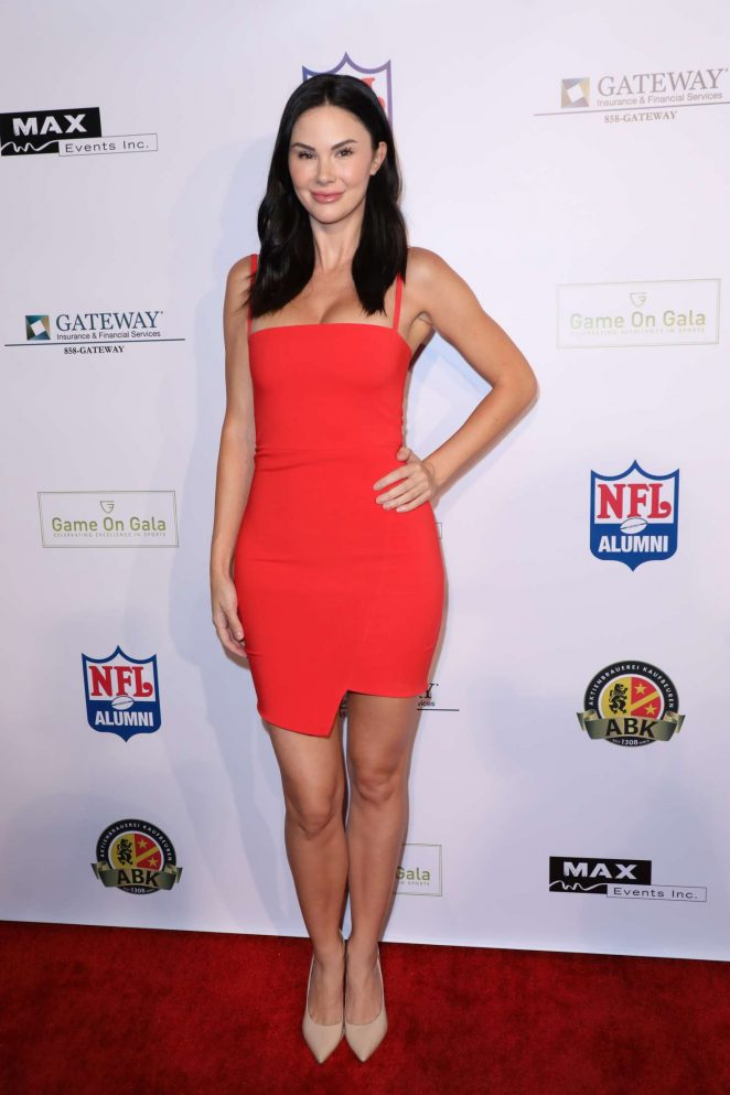 e4f2c8b9078 Jayde Nicole  Game on Gala Celebrating Excellence in Sports -01 ...