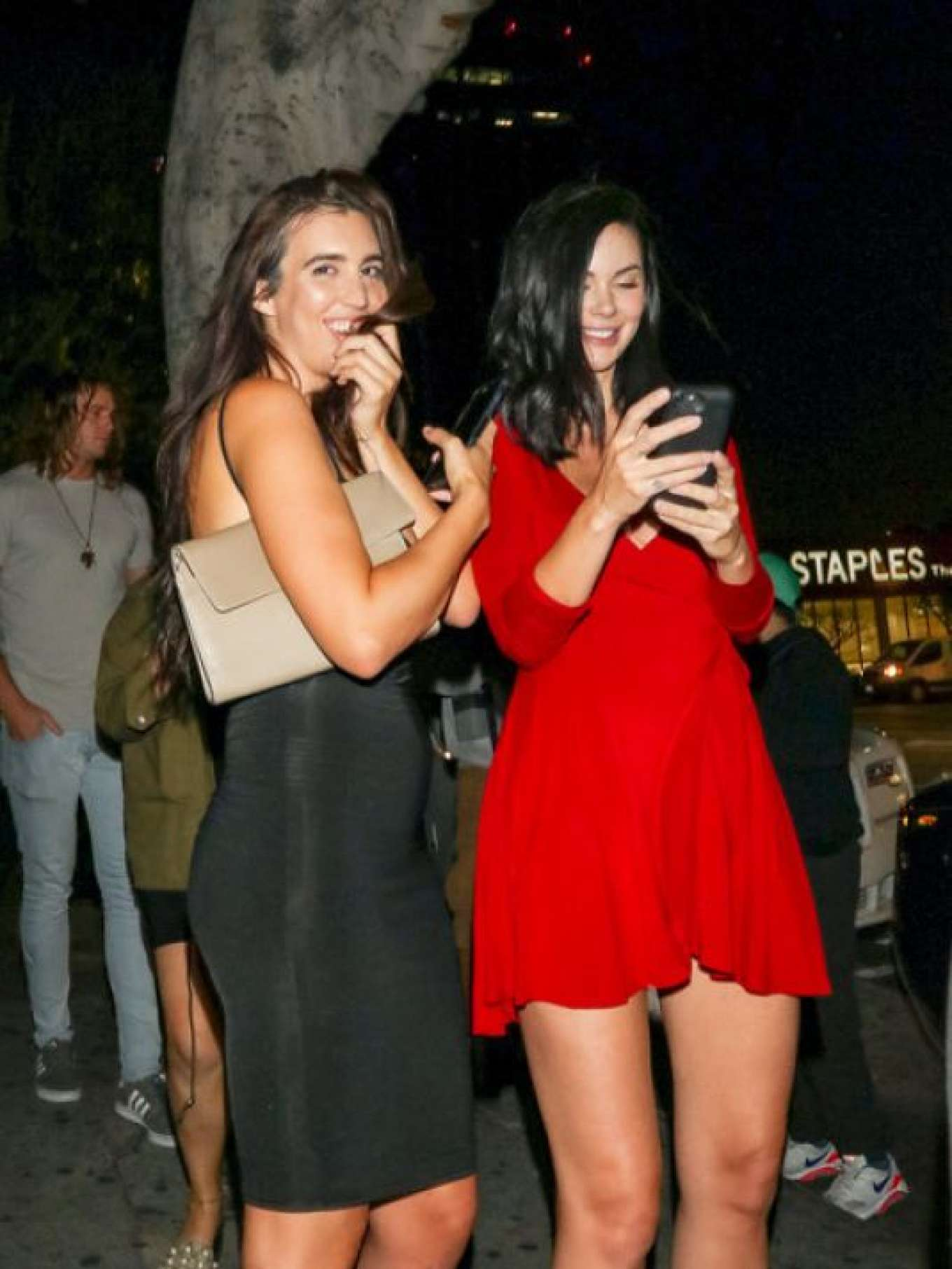 e5f781abfe3 Jayde Nicole in Red Dress -02. Jayde Nicole in Red Dress – Night Out in Los  Angeles