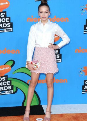 Jayden Bartels - 2018 Nickelodeon Kids' Choice Awards in Los Angeles