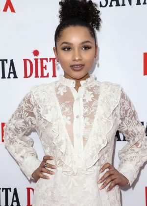 Jaylen Barron - 'Santa Clarita Diet' Season 2 Premiere in Hollywood